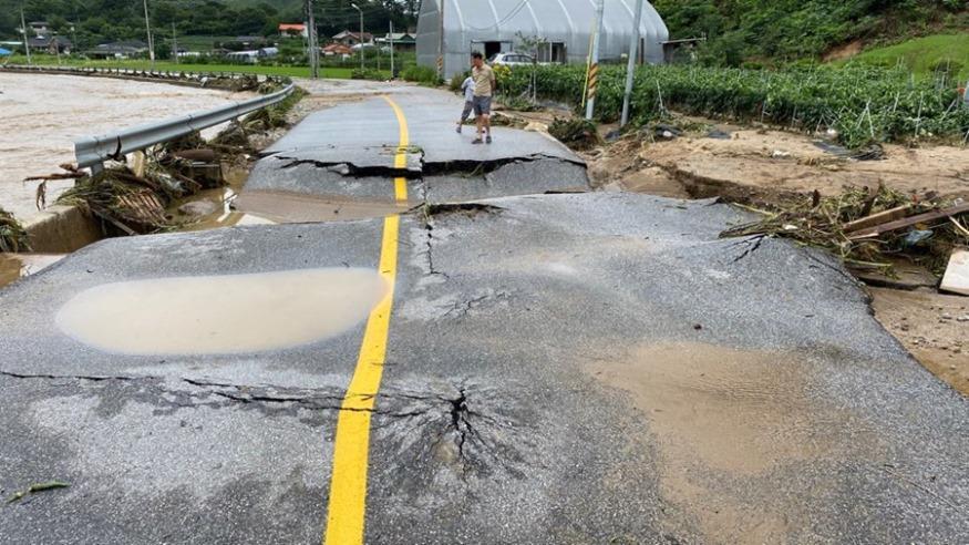 구곡1리 진입로  파손된 도로.jpg